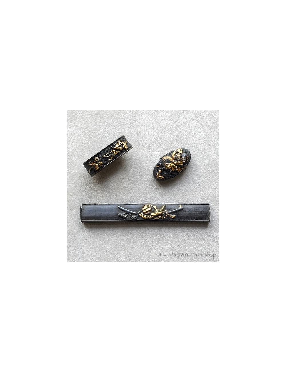 Kodogu-Set, Samurai-Motive