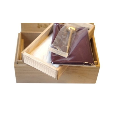 Pflegeset Premium, Holzbox